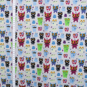 Mi & Joe Fabrics – Monster Grau