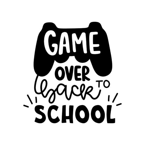 Game over back to school
