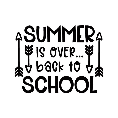 Summer is over back to school