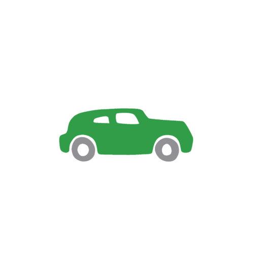 Auto grün