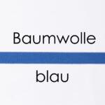 Baumwolle blau